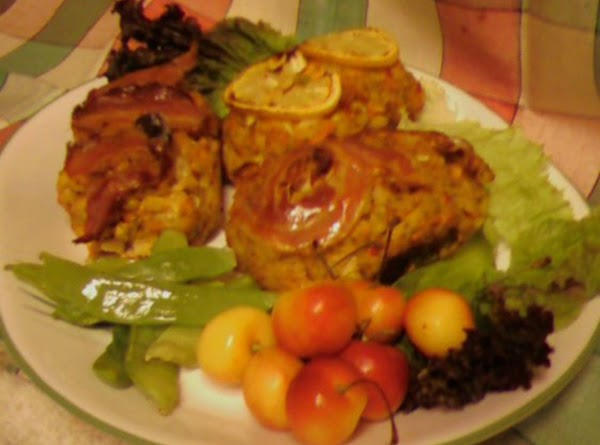 Pam's Salmon Corn Chowder Loaf Recipe