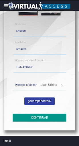 Virtual Access - Reception screenshot 6