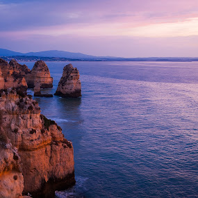 Algarve, Portugal by Paweł Mielko - Landscapes Beaches ( beaches, cliffs, portugaly, landscaping, algarve, clifs, ocean, beach, landscape, portugal,  )