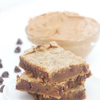 Peanut Butter Chocolate Chip Blondies.