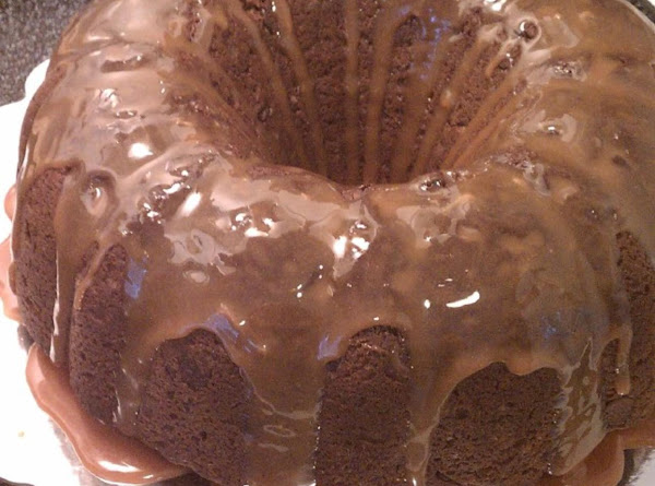Nutty-licious Chocolate Bundt Cake With Caramel Sauce Recipe
