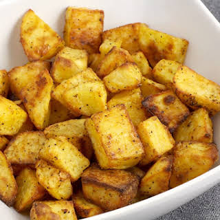 Easy Oven Roasted Potatoes.