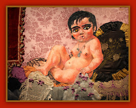 Photo: Antonio Berni Ramona bebé 1962. 97,5 x 124,5 cm. BAM - Musée des Beaux-Arts, Mons, Bélgica. Expo: Antonio Berni. Juanito y Ramona (MALBA 2014-2015)