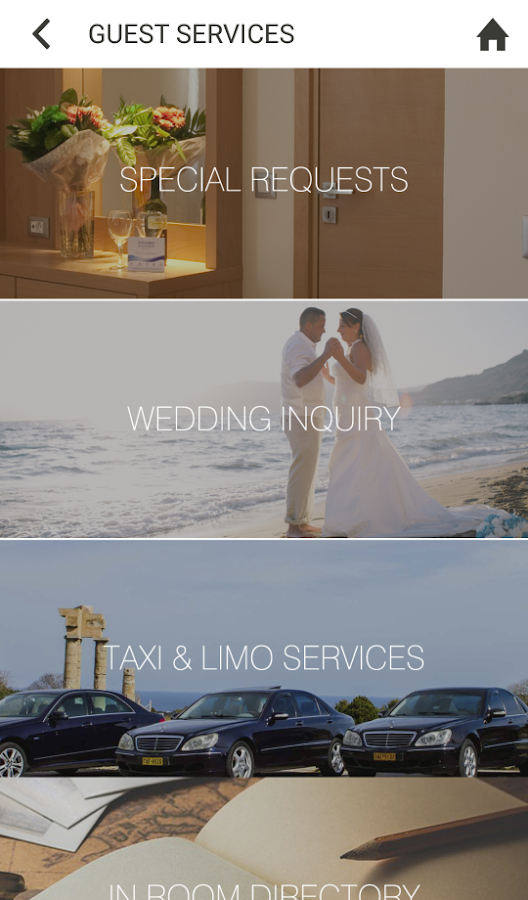 Ioannidis Hotels- screenshot
