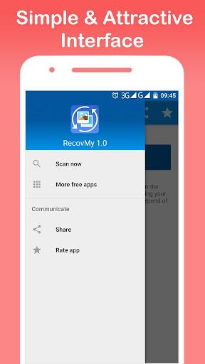 Restore Deleted Photos - RecovMy screenshot 10