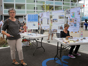 Photo: Le stand commun ACTIS, GRENOBLE HABITAT, VILLE