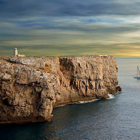 Cabo da Sao Vicente, Portugal by Khaled Ibrahim - Landscapes Waterscapes