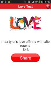 Match making love meter