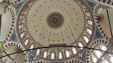 Photo: Rustem Pasa Mosque--another by Sinan