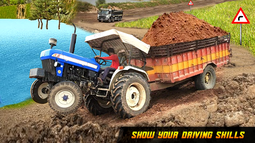 Offroad  Tractor Trolley Drive Farming Simulator 1.6 screenshots 1