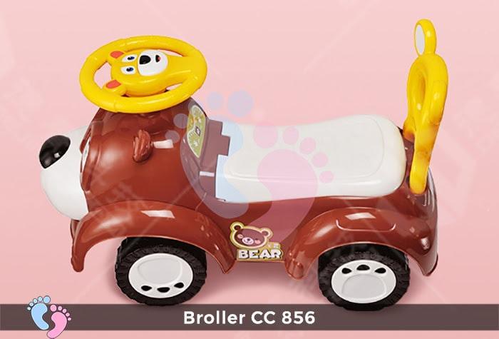 Xe chòi chân cho bé Broller CC-856 7