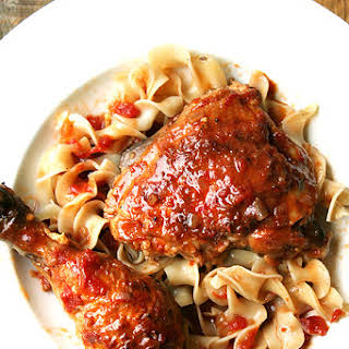 Chicken with Sherry and Sherry Vinegar.