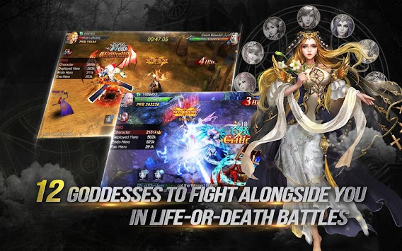 Goddess: Primal Chaos - Arab Free 3D Action MMORPG apk screenshot