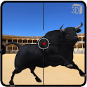 Angry Bull Attack Shooting icon