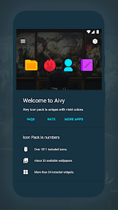 Aivy – Icon Pack v4.4 [Patched] APK 2