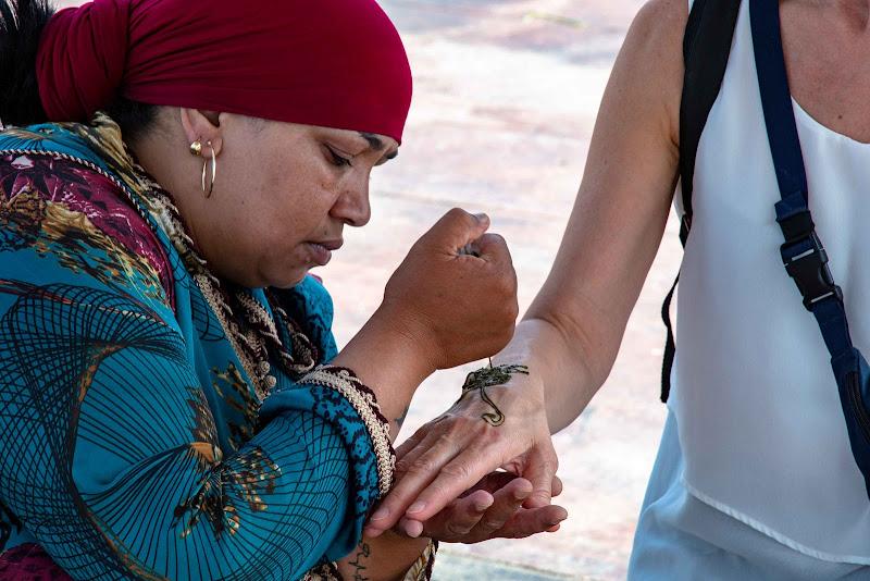 tatuaggio henne Marrakech di fabrizio_fontana