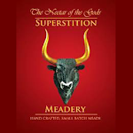 Logo of Superstition Meadery Vanilla Blueberry Spaceship Box
