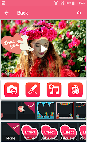 Photo video maker with music screenshot 21