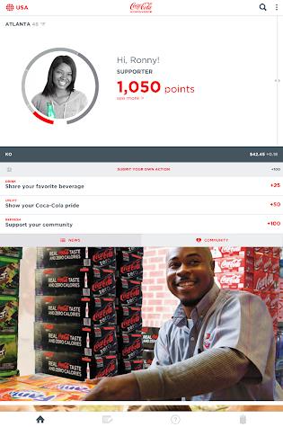 Coca-Cola Ambassador Screenshot