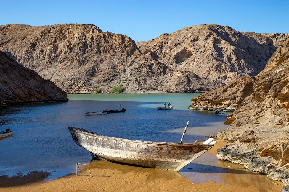najpiękniejsze plaże północnego Omanu