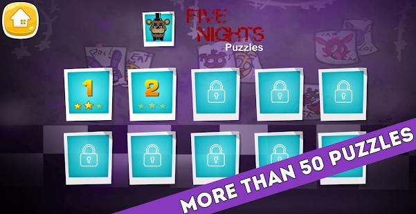 FNAF world 2345678 Jigsaw puzzles - náhled