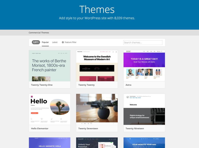 Precios WordPress: Guía de precios de hosting, dominios, themes y plugins