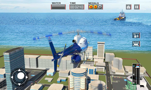 Heli Ambulance Rescue Team 3D Helicopter Simulator  screenshots 6