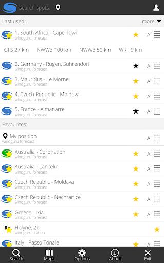 Windguru Lite 2.1.3 Screenshots 2