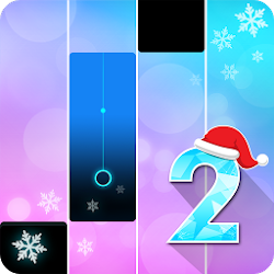 Piano Christmas Challenges: Magic White Tiles 2