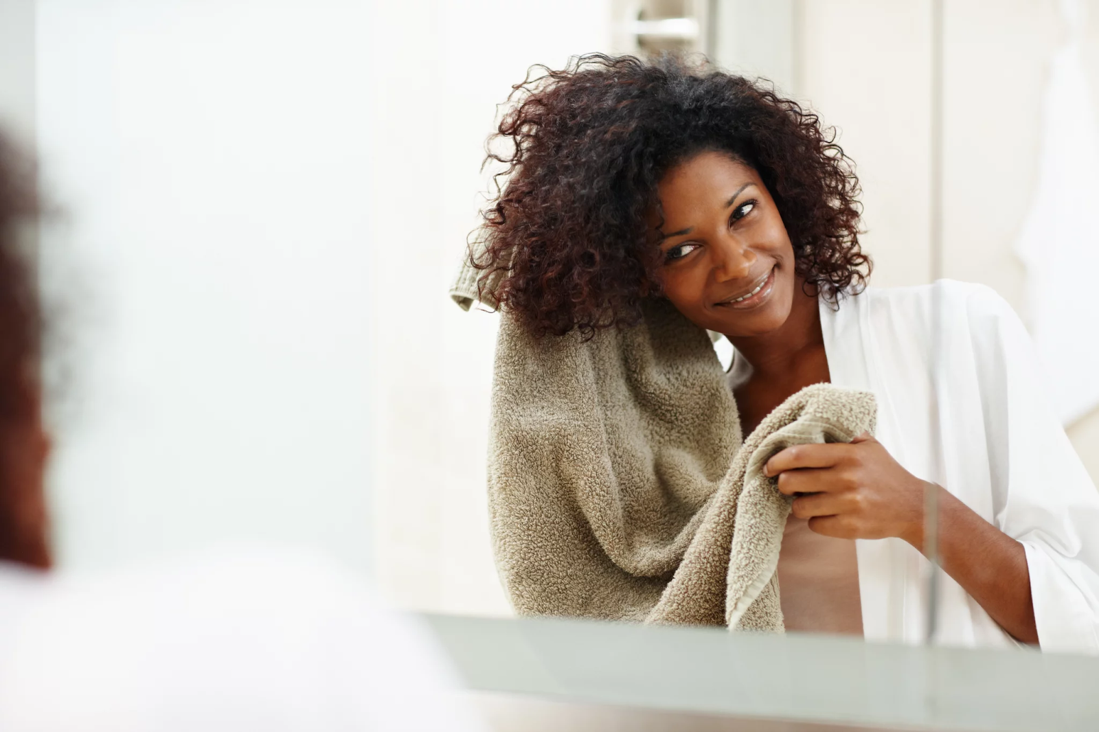 Don't over-wash your curls