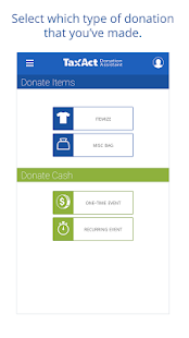 Donation Assistant by TaxAct- screenshot thumbnail