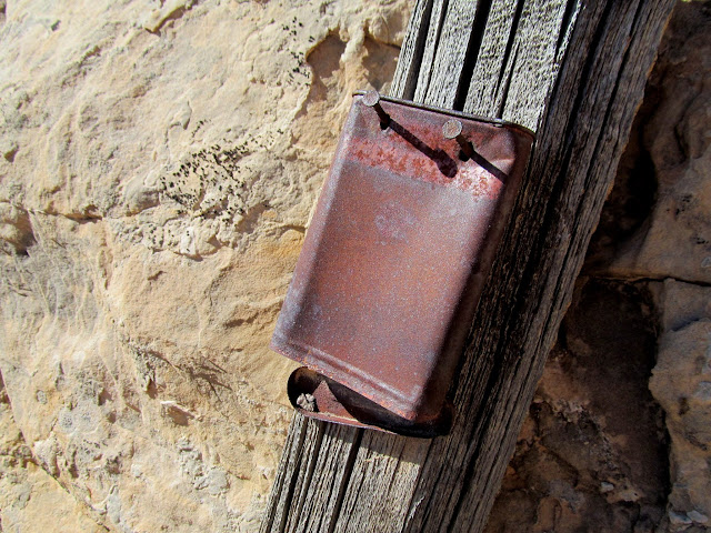 Mining claim in a tobacco tin