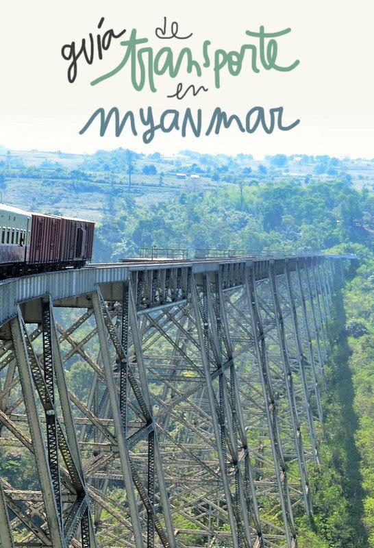 transporte Myanmar