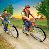 Bicycle Rider Race BMX