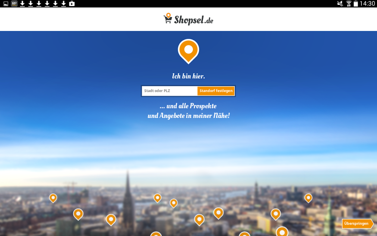 Shopsel - Regionale Prospekte- screenshot