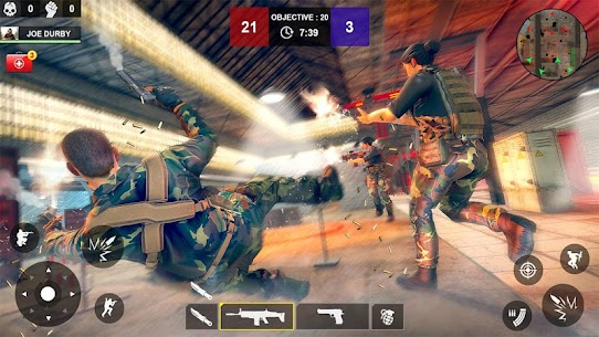 Counter Attack Shooting (CAS) – New FPS Strike Mod Apk Download For Android and Iphone 6