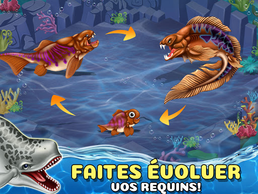 Code Triche Shark World APK MOD screenshots 5