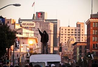 Photo: Occupy Oakland at First Friday Art Murmur, Oakland. By Matt Werner