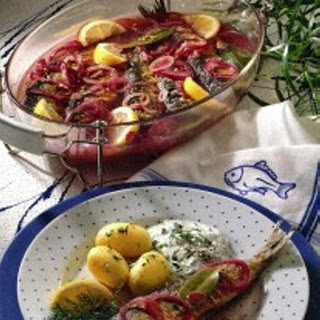 Bratheringe Im Zwiebel-Sud Recipe