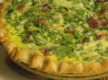 Kitty's Spinach Quiche Recipe