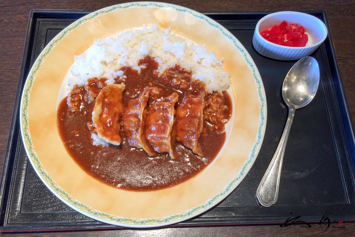 羽幌えびタコ餃子カレー