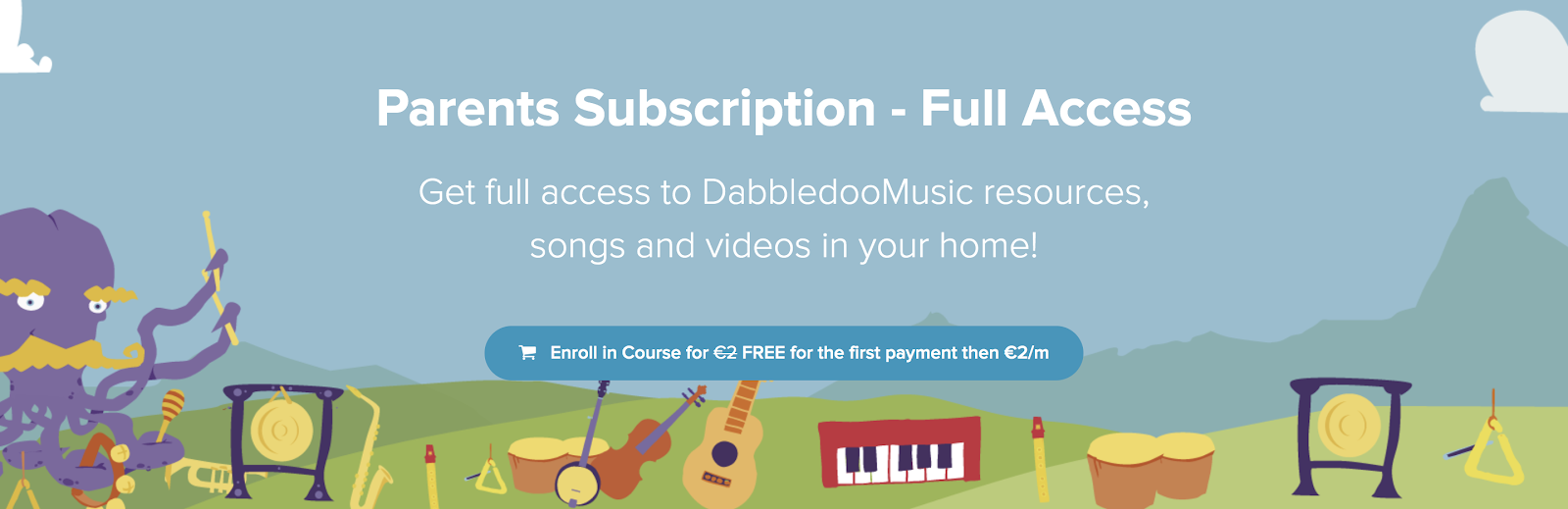 DabbledooMusic Parent's Course - Making music at home