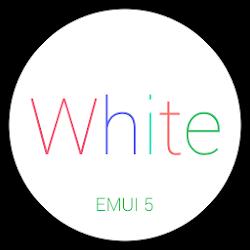 White-King EMUI 5 Theme