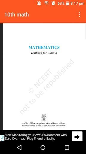 Class 10th Math Solution screenshot 3