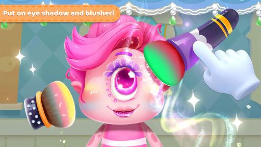 little monster's makeup game screenshot 1