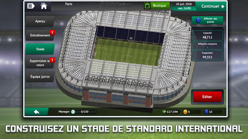 Soccer Manager 2019 - Jeu de Manager de Football  captures d'u00e9cran 2