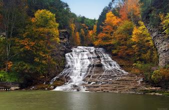 Photo: Buttermilk Falls, Ithaca, Ny