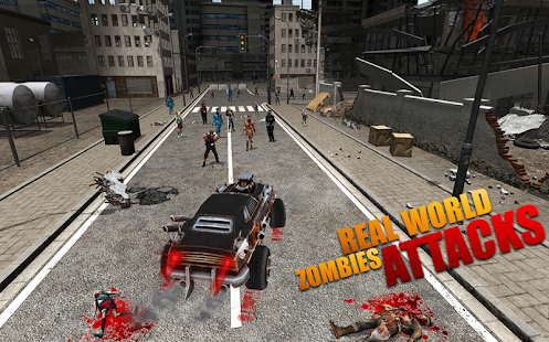 Dead City: Car Shooting Zombies - náhled