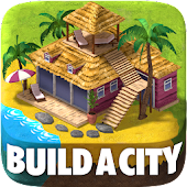 Town Building Games: Tropic Town Island City Sim