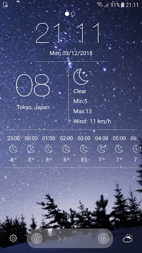 Android/PC/Windows 용 Weather - unlimited & realtime weather forecast 앱 (apk) 무료 다운로드 screenshot